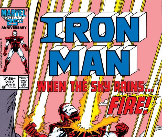 Iron Man (1968) #207 Cover