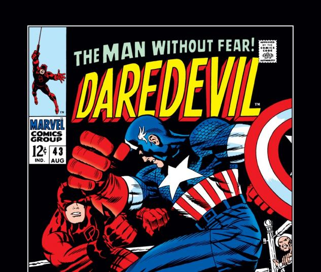 Daredevil (1963) #43 Cover