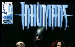 Inhumans (1998) #1 Cover