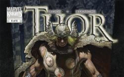 Thor: For Asgard (2010) #6 Cover