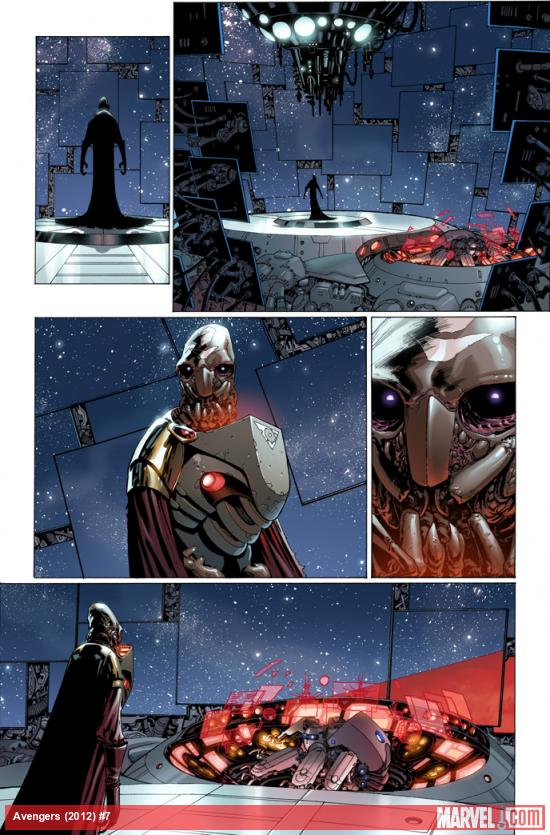 Avengers (2012) #7 preview art by Dustin Weaver