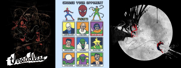 Threadless Spider-Man T-Shirts