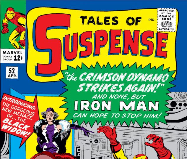 Tales of Suspense (1959) #52 Cover
