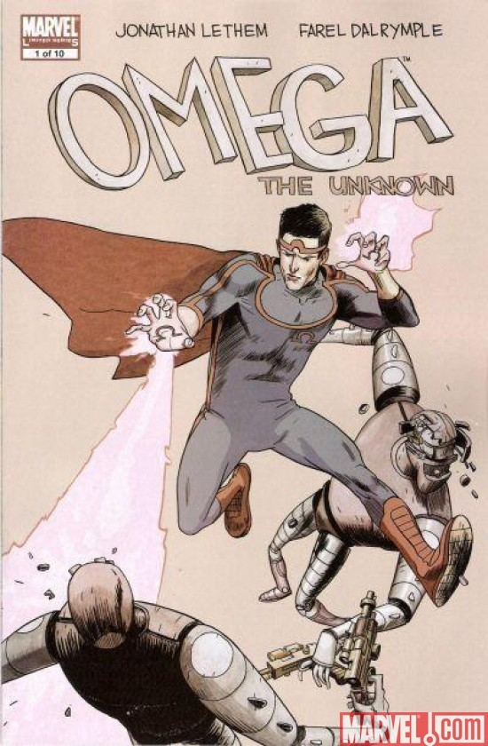OMEGA THE UNKNOWN #1 (2007)