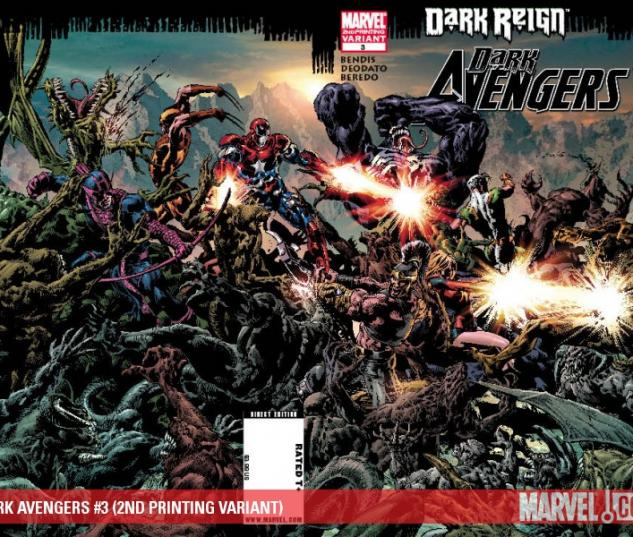 DARK AVENGERS #3 (2ND PRINTING VARIANT)