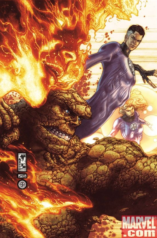 DARK REIGN: FANTASTIC FOUR #1 Cover