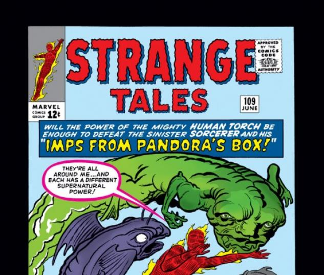 Strange Tales #109