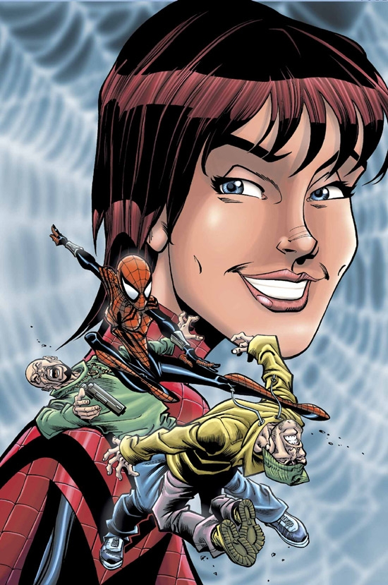 SPIDER-GIRL (2003) #72 COVER