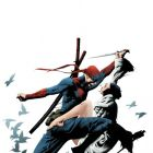 DEADPOOL: PULP #1 cover by Jae Lee