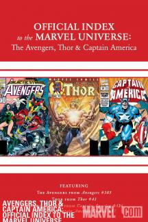 Avengers, Thor & Captain America: Official Index to the Marvel Universe #12