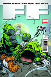 FF (2010) #1 (2nd Printing Mcguinness Variant)
