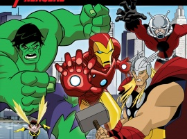 The Avengers: Earth's Mightiest Heroes! Breakout! story book cover art