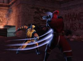 Action screenshot of Wolverine in Marvel Heroes