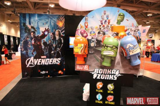Bonkazonks booth at Fan Expo 2012