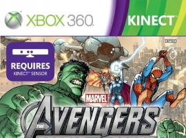 Marvel Avengers: Battle For Earth Xbox 360 box art