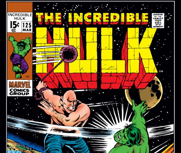 Incredible Hulk (1962) #125 Cover