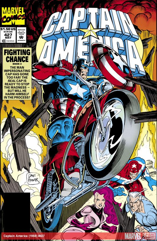Captain America (1968) #427 Cover