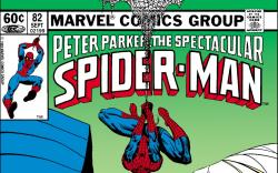 Peter Parker, the Spectacular Spider-Man (1976) #82 Cover