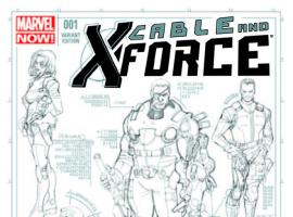 CABLE AND X-FORCE 1 LARROCA DESIGN VARIANT