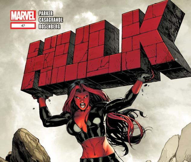 Cover: Hulk (2008) #47