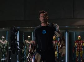 Robert Downey, Jr. stars as Tony Stark/Iron Man in Marvel's Iron Man 3