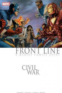 Civil War: Front Line (Hardcover)