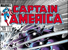 Captain America (1968) #304 Cover