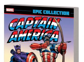 CAPTAIN AMERICA EPIC COLLECTION: SOCIETY OF SERPENTS TPB