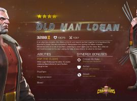 Old Man Logan in Marvel Contest of Champions