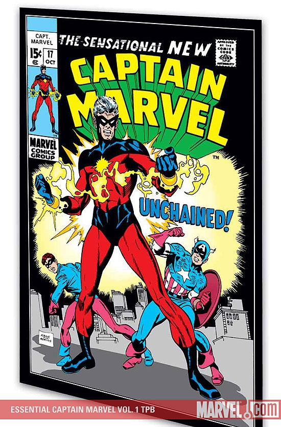 ESSENTIAL CAPTAIN MARVEL VOL. 1 #0