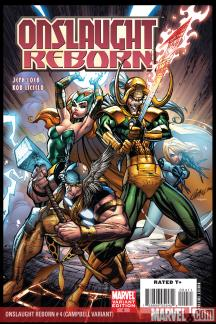 Onslaught Reborn (2006) #4 (Campbell Variant)