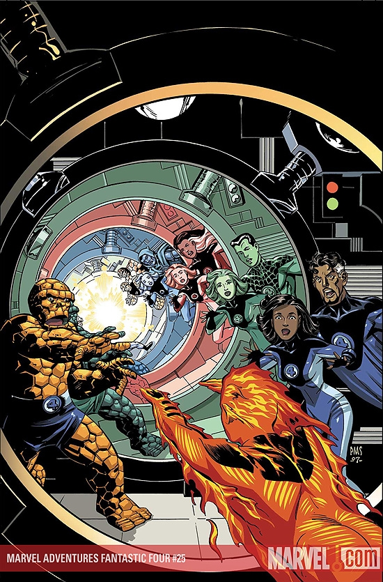 Marvel Adventures Fantastic Four (2005) #25