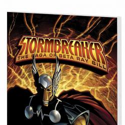 STORMBREAKER: THE SAGA OF BETA RAY BILL COVER