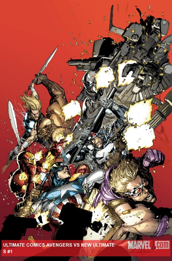 Ultimate Comics Avengers Vs New Ultimates (2010) #1 Cover