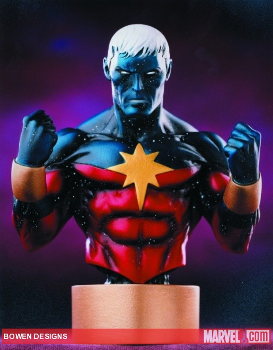 Captain Marvel Modern Mini-Bust by Bowen Designs
