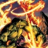 Human Torch &amp; Hulk: From The Marvel Vault #1 cover by Mark Bagley