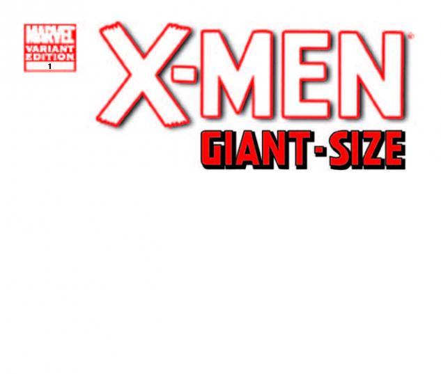 X-Men Giant-Size #1 Blank Variant