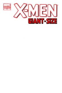 X-Men Giant-Size (2011) #1 (Blank Cover Variant)