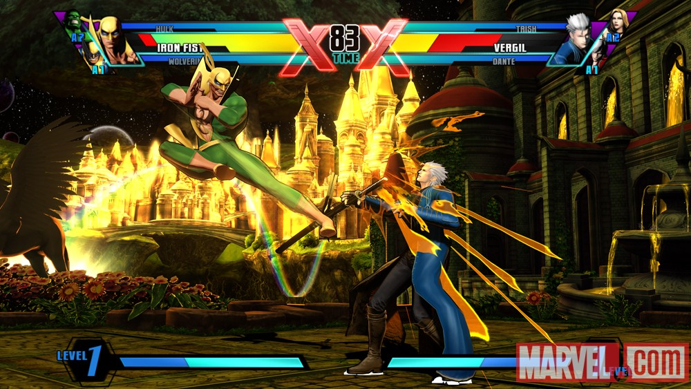 Ultimate Marvel vs. Capcom 3 Iron Fist Screenshot 3