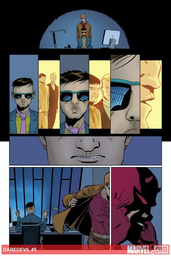 Daredevil (2011) #5 preview art by Marcos Martin