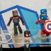 Minimates Captain America and Miles Morales from Diamond Select Toys