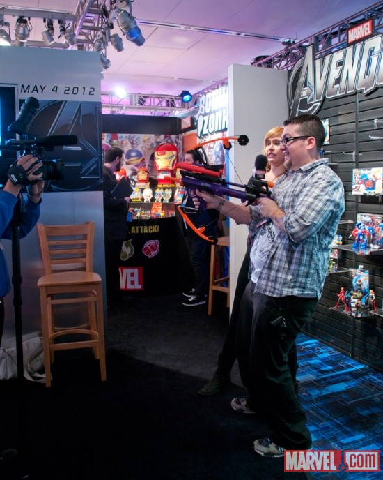 Hasbro The Avengers Nerf Hawkeye Bow