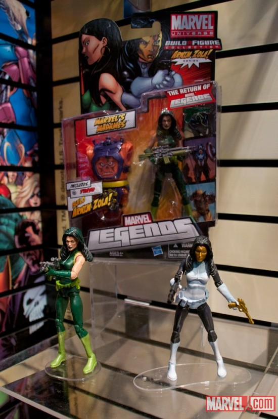 Hasbro Marvel Universe Build A Figure Marvel's Madames