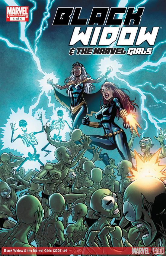 Black Widow & the Marvel Girls (2009) #4