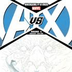 Avengers VS. X-Men #4 Sketch Variant Cover by Jerome Opena