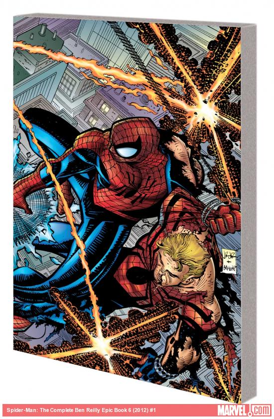 SPIDER-MAN: THE COMPLETE BEN REILLY EPIC BOOK 6 TPB