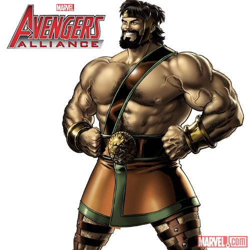 Hercules in Avengers Alliance