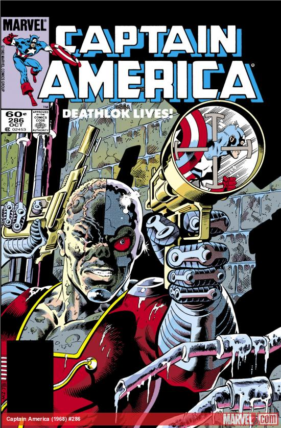 Captain America (1968) #286 Cover