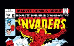 Invaders (1975) #28 Cover