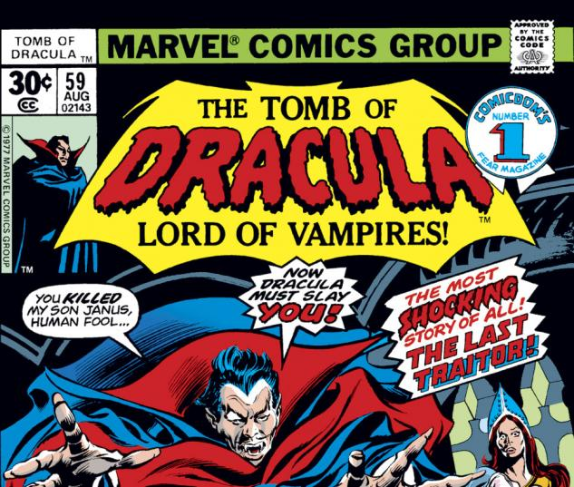 Tomb of Dracula (1972) #59 Cover